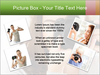 Photographer woman PowerPoint Template - Slide 24
