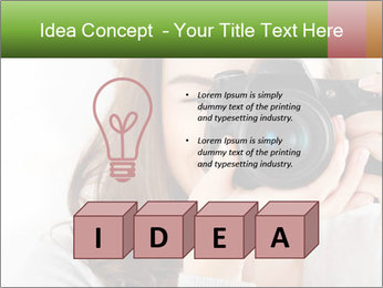 Photographer woman PowerPoint Template - Slide 80