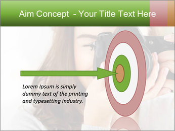 Photographer woman PowerPoint Template - Slide 83