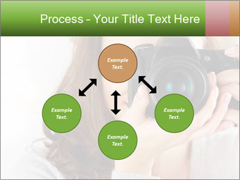 Photographer woman PowerPoint Template - Slide 91