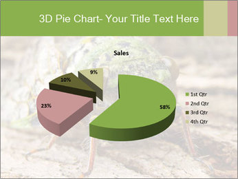 Green Cicada PowerPoint Template - Slide 35