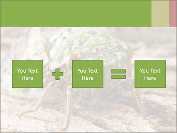 Green Cicada PowerPoint Template - Slide 95