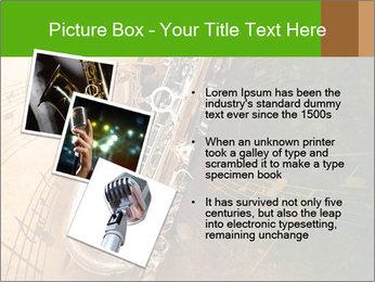Retro Sax PowerPoint Template - Slide 17