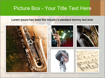 Retro Sax PowerPoint Template - Slide 19