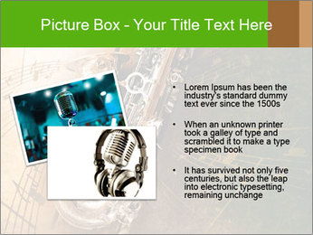 Retro Sax PowerPoint Template - Slide 20
