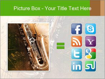 Retro Sax PowerPoint Template - Slide 21