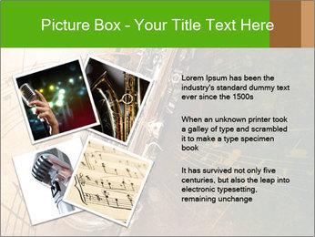 Retro Sax PowerPoint Template - Slide 23