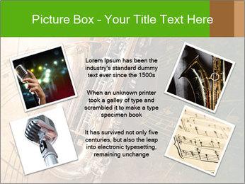 Retro Sax PowerPoint Template - Slide 24