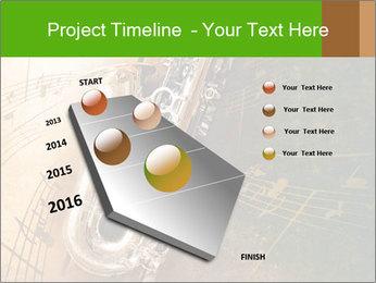 Retro Sax PowerPoint Template - Slide 26
