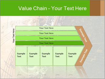 Retro Sax PowerPoint Template - Slide 27