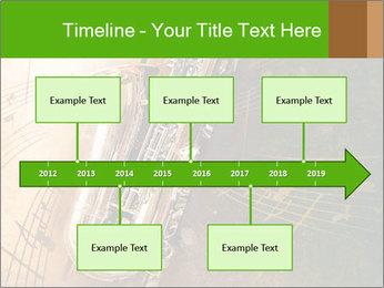 Retro Sax PowerPoint Template - Slide 28