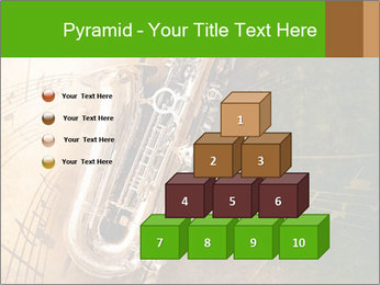 Retro Sax PowerPoint Template - Slide 31