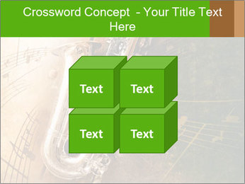 Retro Sax PowerPoint Template - Slide 39