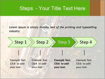Retro Sax PowerPoint Template - Slide 4
