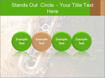 Retro Sax PowerPoint Template - Slide 76