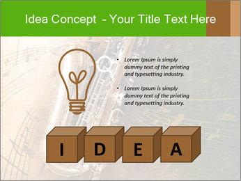 Retro Sax PowerPoint Template - Slide 80
