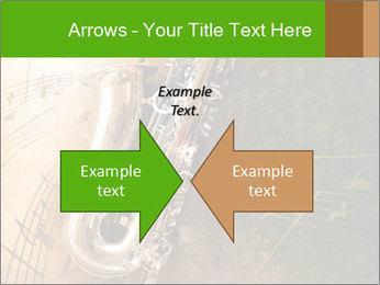 Retro Sax PowerPoint Template - Slide 90