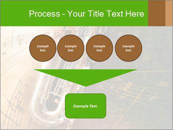 Retro Sax PowerPoint Template - Slide 93
