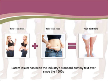 Obese woman's PowerPoint Templates - Slide 22