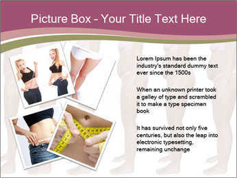 Obese woman's PowerPoint Templates - Slide 23