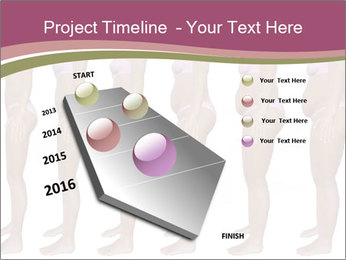 Obese woman's PowerPoint Templates - Slide 26