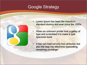 Turkey dinner PowerPoint Templates - Slide 10