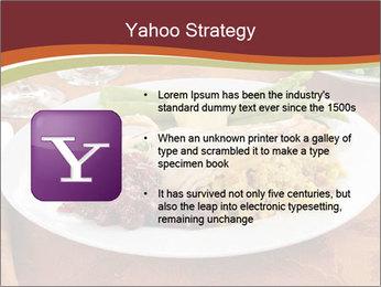 Turkey dinner PowerPoint Templates - Slide 11