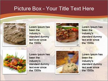 Turkey dinner PowerPoint Templates - Slide 14