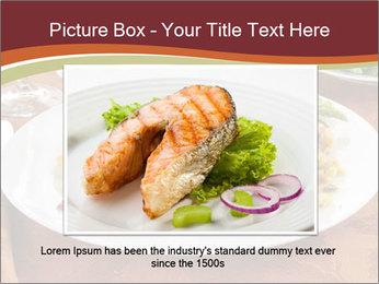 Turkey dinner PowerPoint Templates - Slide 16