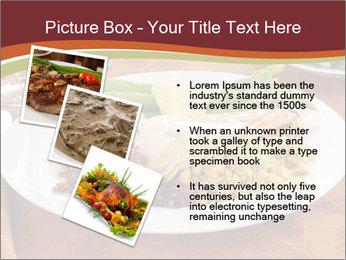 Turkey dinner PowerPoint Templates - Slide 17