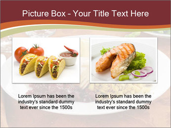 Turkey dinner PowerPoint Templates - Slide 18