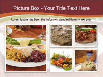 Turkey dinner PowerPoint Templates - Slide 19