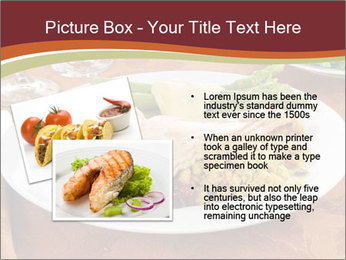 Turkey dinner PowerPoint Templates - Slide 20