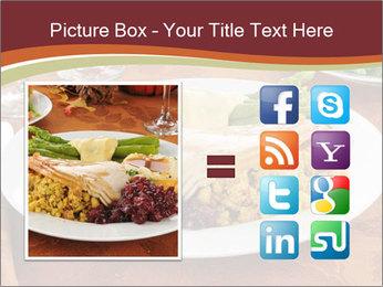 Turkey dinner PowerPoint Templates - Slide 21