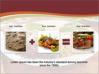 Turkey dinner PowerPoint Templates - Slide 22