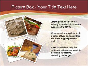 Turkey dinner PowerPoint Templates - Slide 23