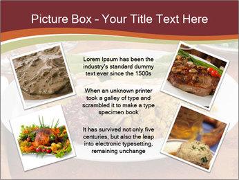 Turkey dinner PowerPoint Templates - Slide 24