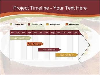 Turkey dinner PowerPoint Templates - Slide 25