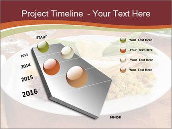 Turkey dinner PowerPoint Templates - Slide 26