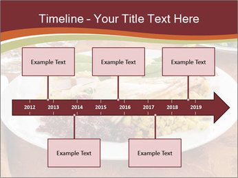Turkey dinner PowerPoint Templates - Slide 28