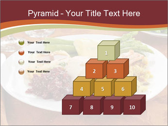 Turkey dinner PowerPoint Templates - Slide 31