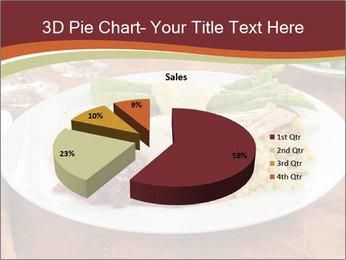 Turkey dinner PowerPoint Templates - Slide 35
