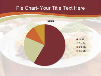 Turkey dinner PowerPoint Templates - Slide 36