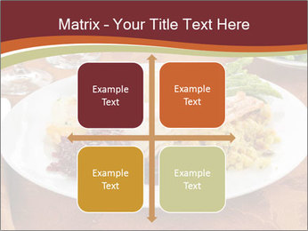 Turkey dinner PowerPoint Templates - Slide 37