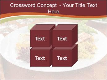 Turkey dinner PowerPoint Templates - Slide 39