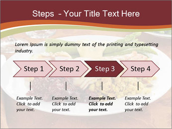 Turkey dinner PowerPoint Templates - Slide 4