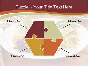 Turkey dinner PowerPoint Templates - Slide 40