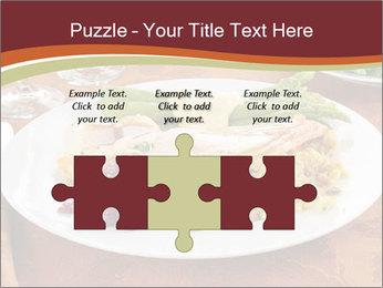Turkey dinner PowerPoint Templates - Slide 42