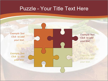 Turkey dinner PowerPoint Templates - Slide 43