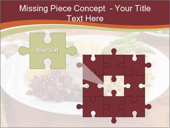 Turkey dinner PowerPoint Templates - Slide 45